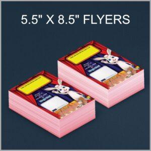 5.5x8.5 mini flyers