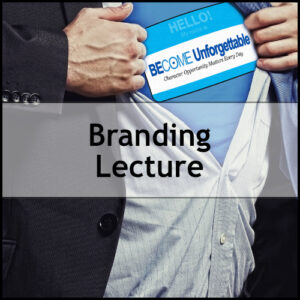 Branding Lecture | 1 Day Workshop