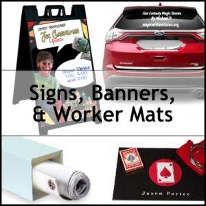 Signs, Banners & Mats